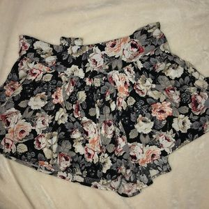 Cotton Candy Floral Shorts